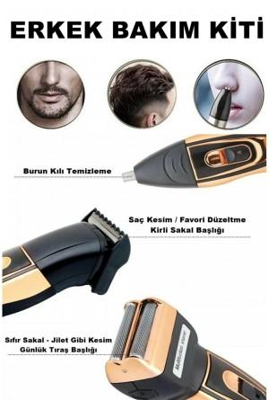 Ipone IP-2020 3 Başlıklı Tıraş Makinası
